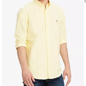 Polo Ralph Lauren Classic Fit Oxford Long Sleeve